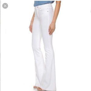 McGuire Majorelle Flare White jeans sz 24